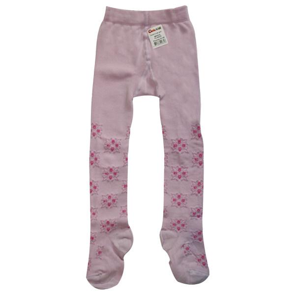 جوراب شلواری دخترانه کنته کیدز مدل Pink 7C-44-213