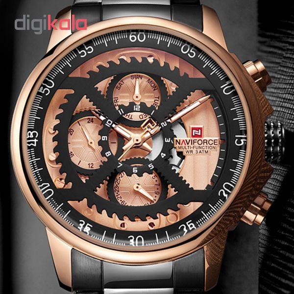 خرید                                     ساعت مچی عقربه ای مردانه نیوی فورس مدل NF9150M / ME-RO