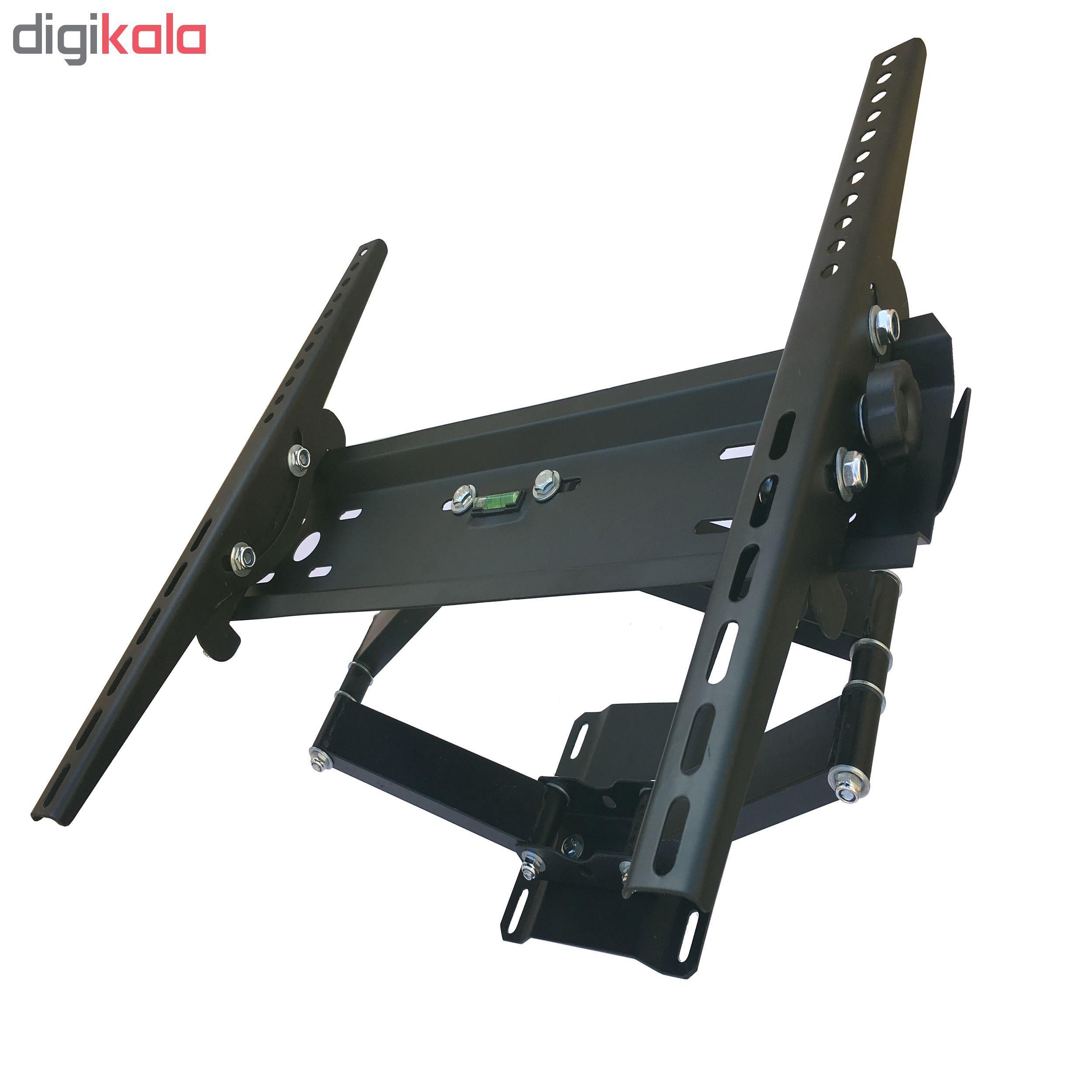 پایه دیواری تلویزیون کاردو مدل A5 مناسب برای تلوزیون 32 تا 58 اینچ