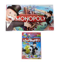 بازی فکری مدل مونوپولی به همراه بازی فکری مدل روپولی