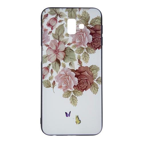 کاور آی پفت طرح گل کد B9 مناسب برای گوشی موبایل سامسونگ Galaxy J6 Plus