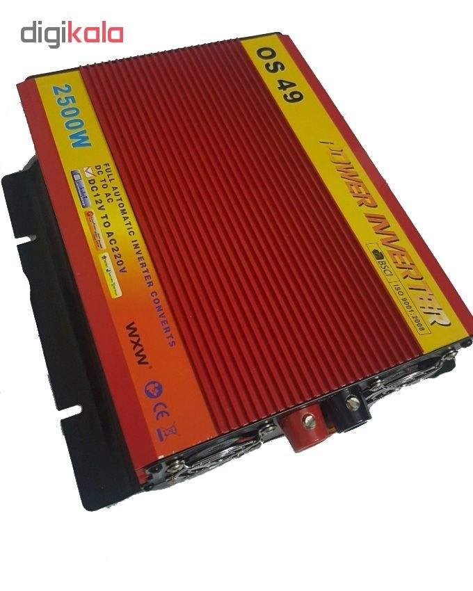 مبدل برق خودرو جی امی استار مدل 2500MSW main 1 1
