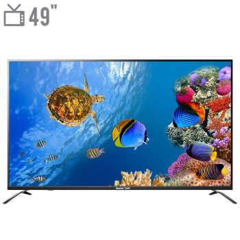 تلویزیون ال ای دی هوشمند مستر تک مدل MT-490USEB New Version سایز 49 اینچ
