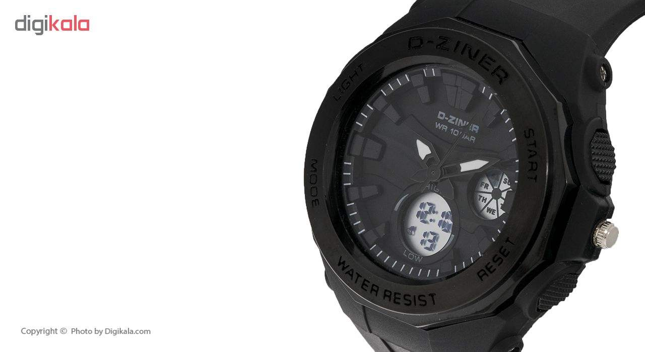 ساعت مچی عقربه ای دیزاینر مدل D-Z7023