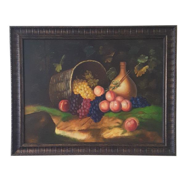 تابلونقاشی طرح سبد میوه کد 01