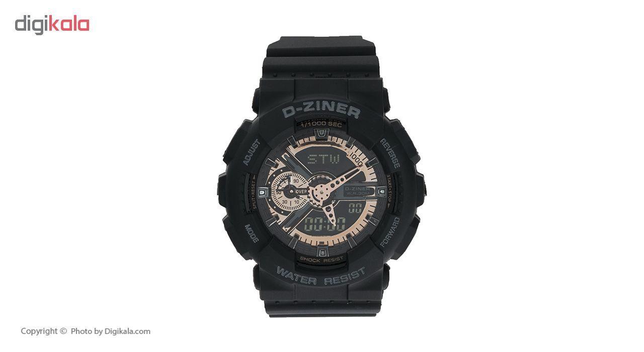 خرید ساعت مچی عقربه ای مردانه دیزاینر مدل D-Z7001