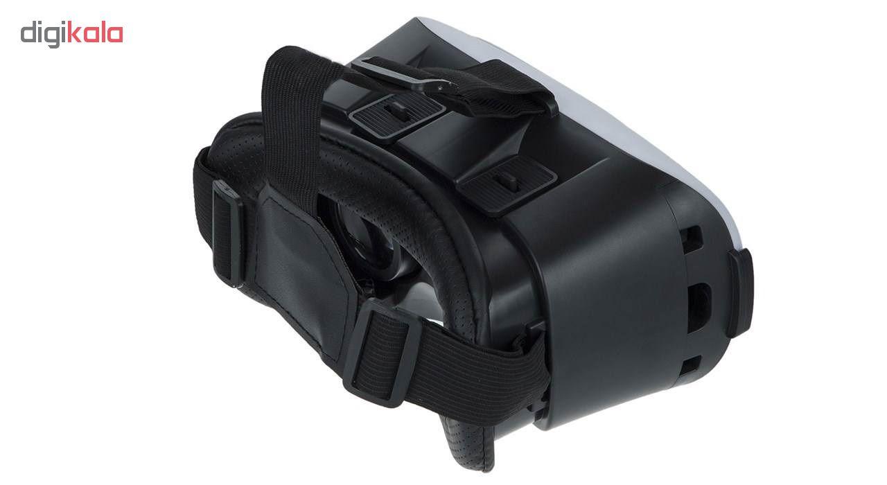 هدست واقعیت مجازی وی آر باکس مدل VR Box به همراه DVD نرم افزار و پنکه همراه microUSB
