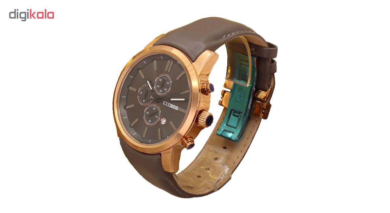خرید ساعت مچی عقربه ای مردانه لدفورت کد MK-0007