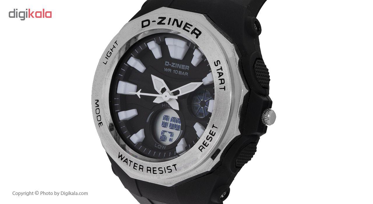 ساعت مچی عقربه ای دیزاینر مدل D-Z7005