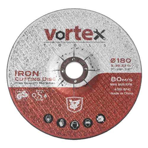 صفحه برش آهن بزرگ ورتکس مدل ICD-180 مجموعه 2 عددی