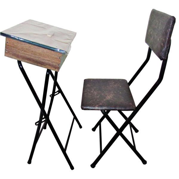 میز نماز باکسدار و صندلی مدل 2 (ضدخش،تاشو،تنظیم شونده ارتفاع)