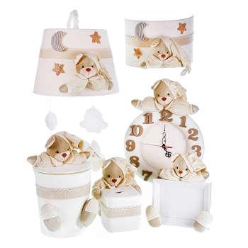 ست سیسمونی تزئیناتی اتاق کودک طرح خرس نانان