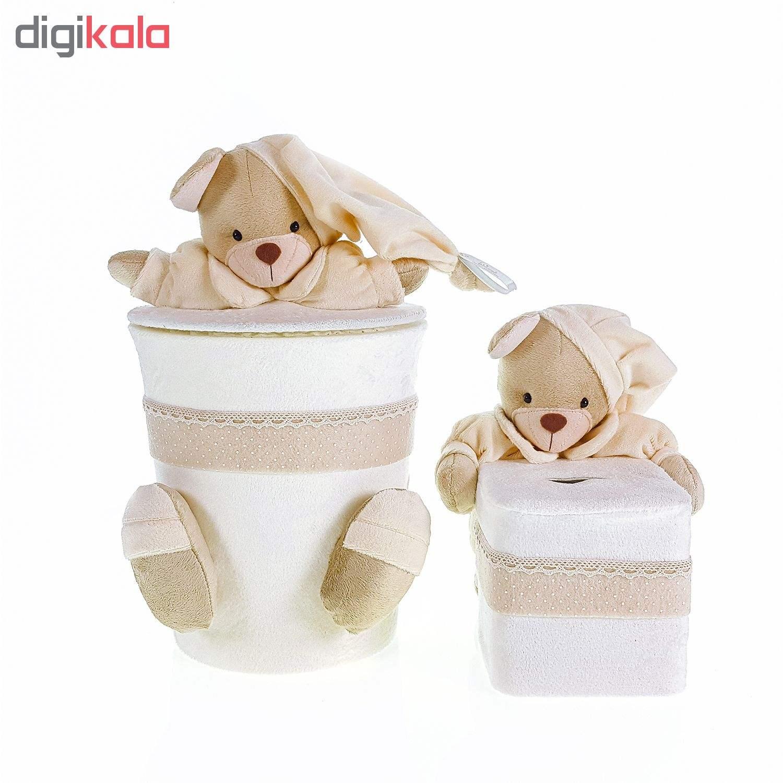 سیسمونی تزئیناتی اتاق کودک طرح خرس نان main 1 4