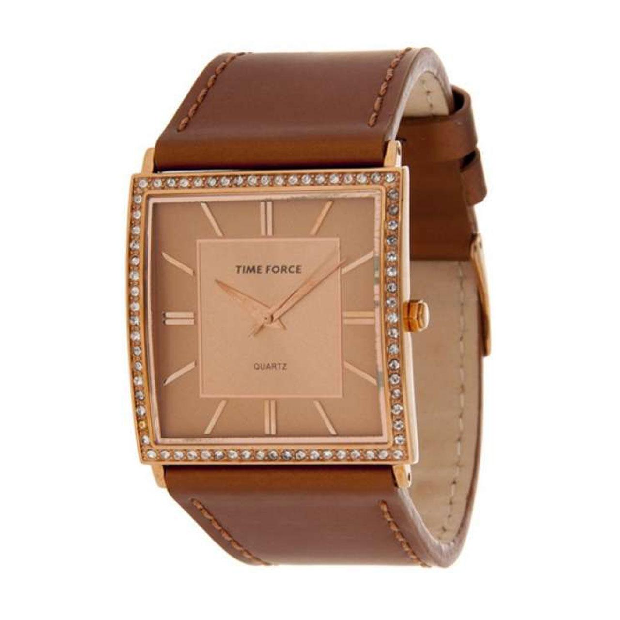 ساعت مچی عقربه ای زنانه تایم فورس مدل TF3175L11