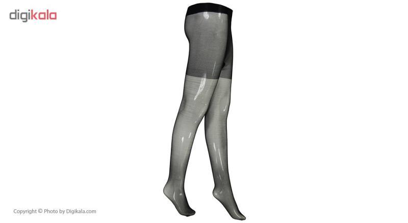 جوراب شلواری زنانه کد L8003 رنگ مشکی