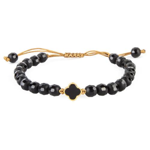 دستبند طلا 18 عیار زنانه ریسه گالری مدل Ri3-A1115-Gold