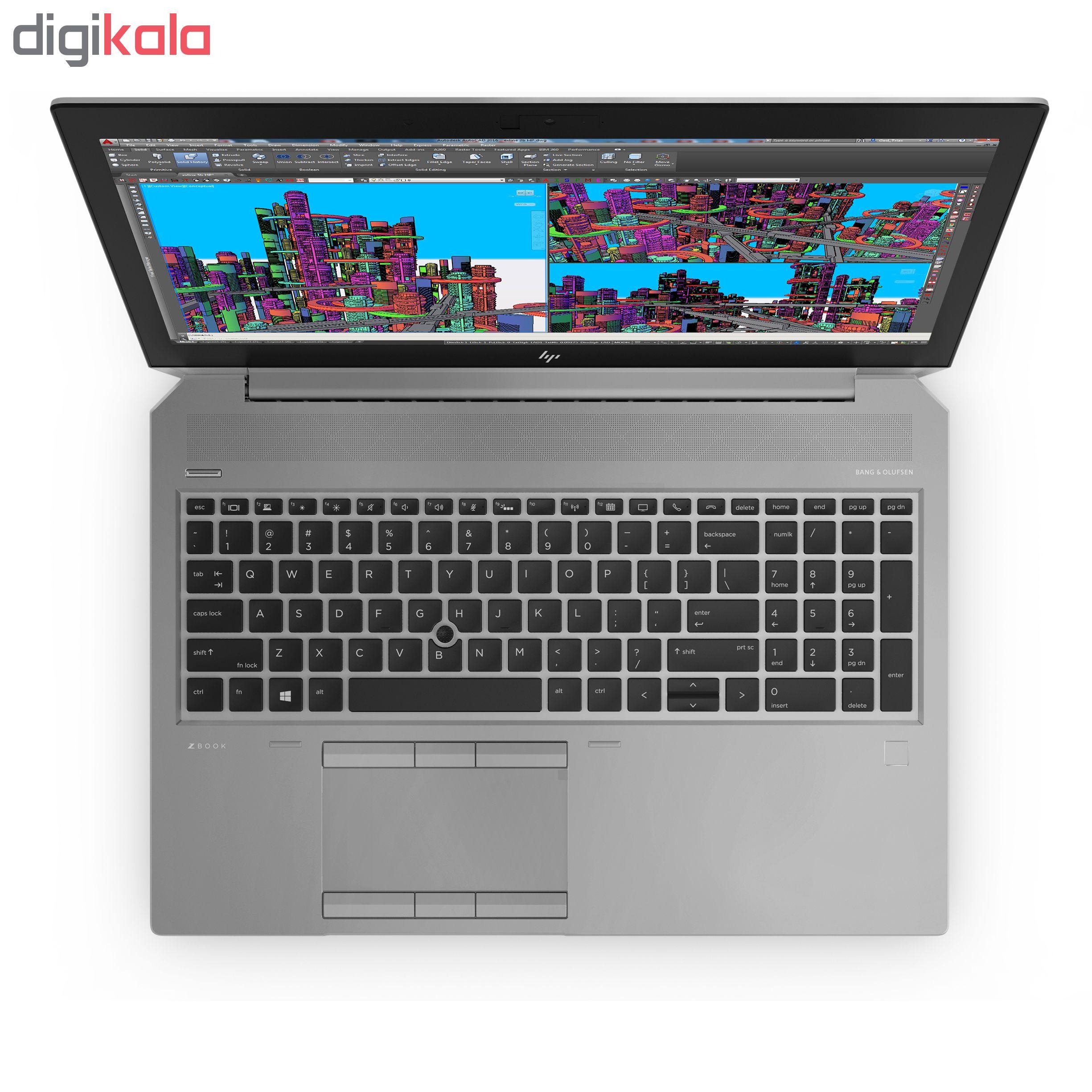 لپ تاپ 15 اینچی اچ پی مدل ZBook 15 G5 Mobile Workstation - D