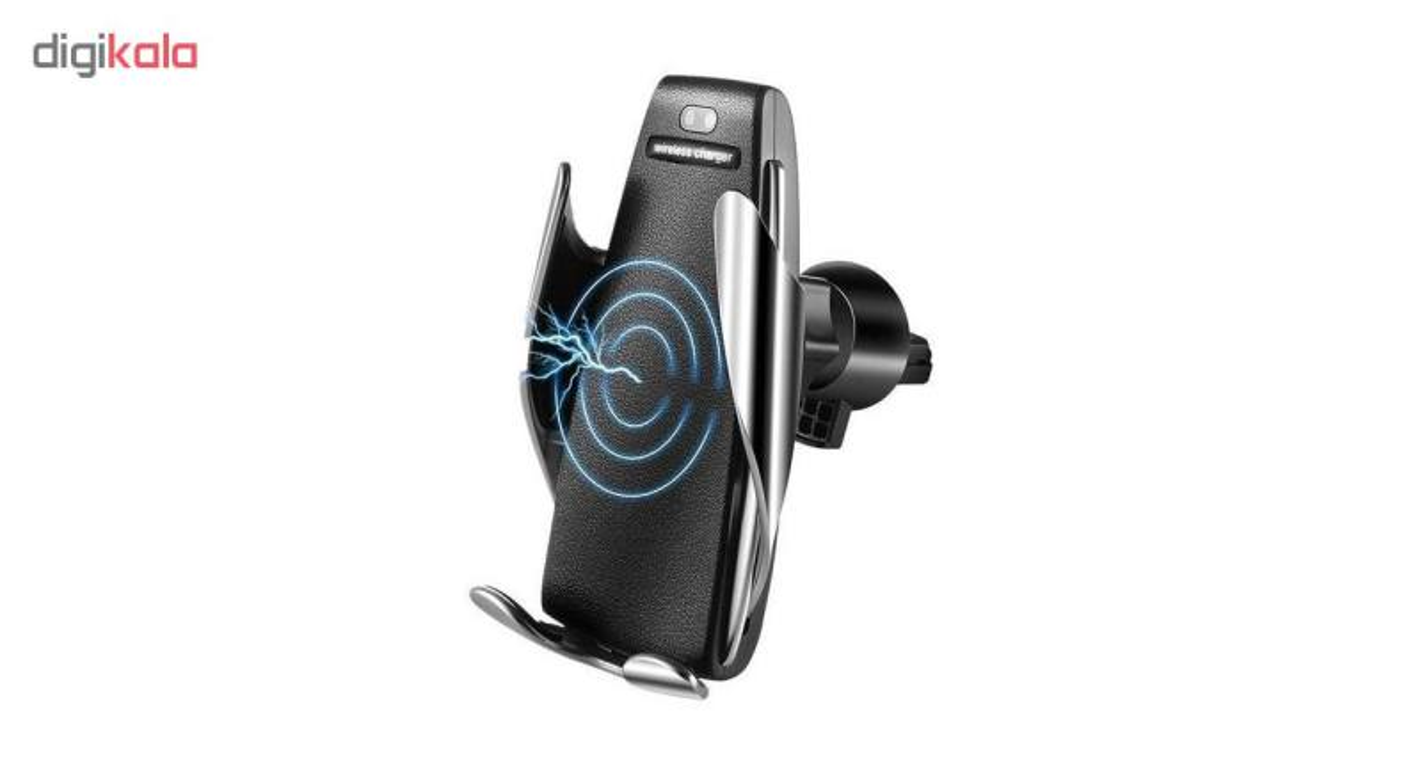 پایه نگهدارنده و شارژر بی سیم گوشی موبایل مدل S5 main 1 4