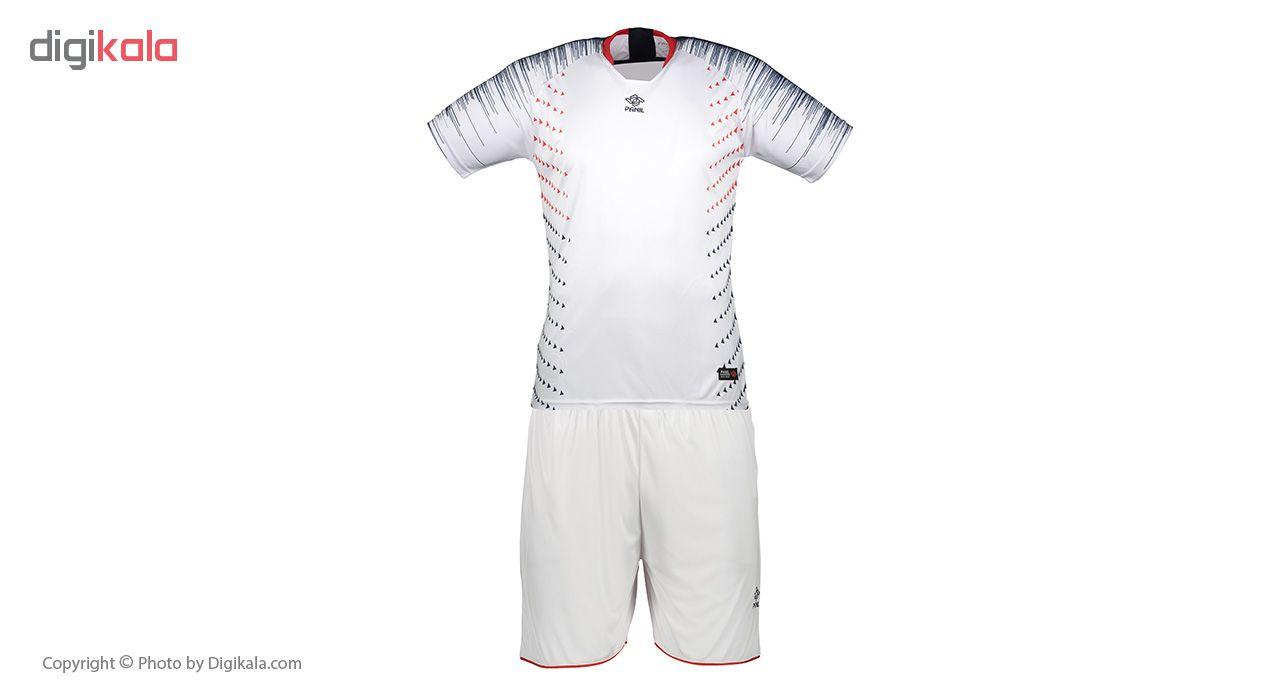 ست تی شرت و شلوارک مردانه پانیل مدل PA1104W