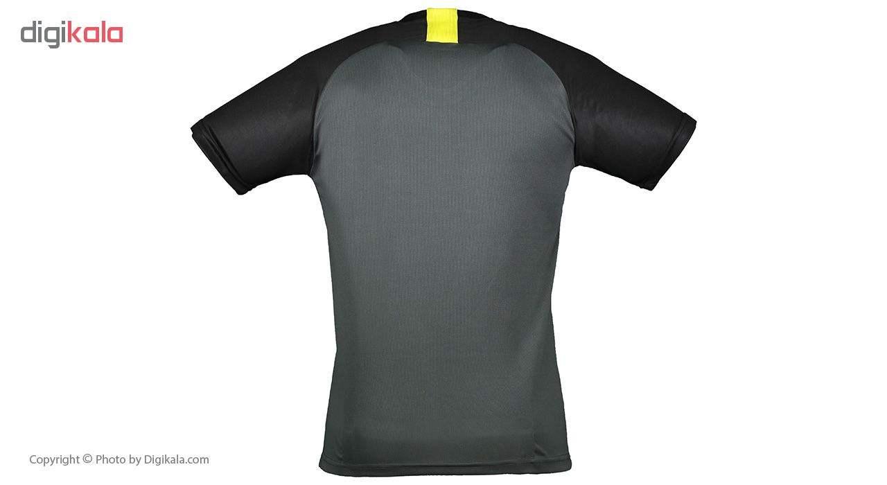 ست تی شرت و شلوارک مردانه پانیل مدل PA1102BY -  - 4