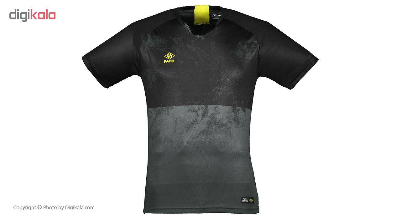ست تی شرت و شلوارک مردانه پانیل مدل PA1102BY -  - 2