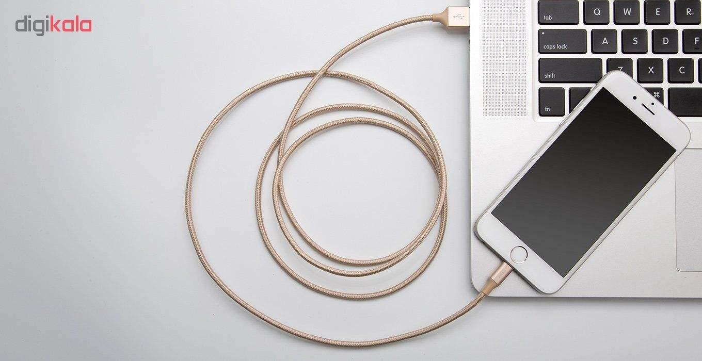 کابل تبدیل USB به لایتنینگ آیفون زیکو مدل Sc500 به طول 1.5 متر thumb 5