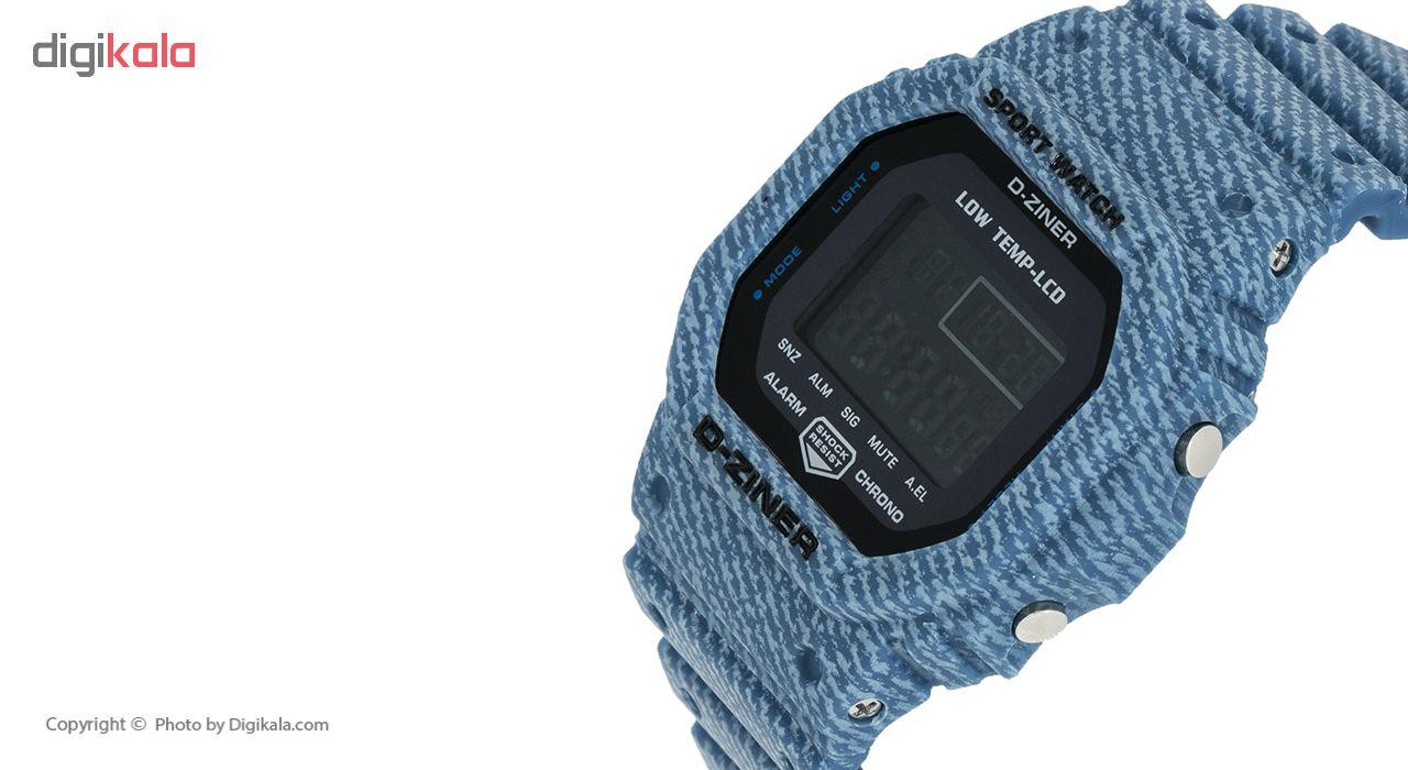 ساعت مچی دیجیتال دیزاینر مدل D-Z7030