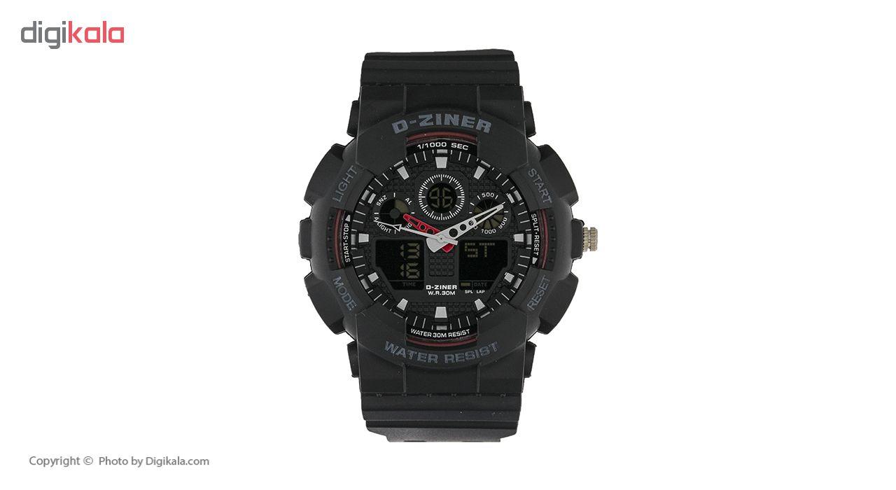 ساعت مچی عقربه ای مردانه دیزاینر مدل D-Z7003