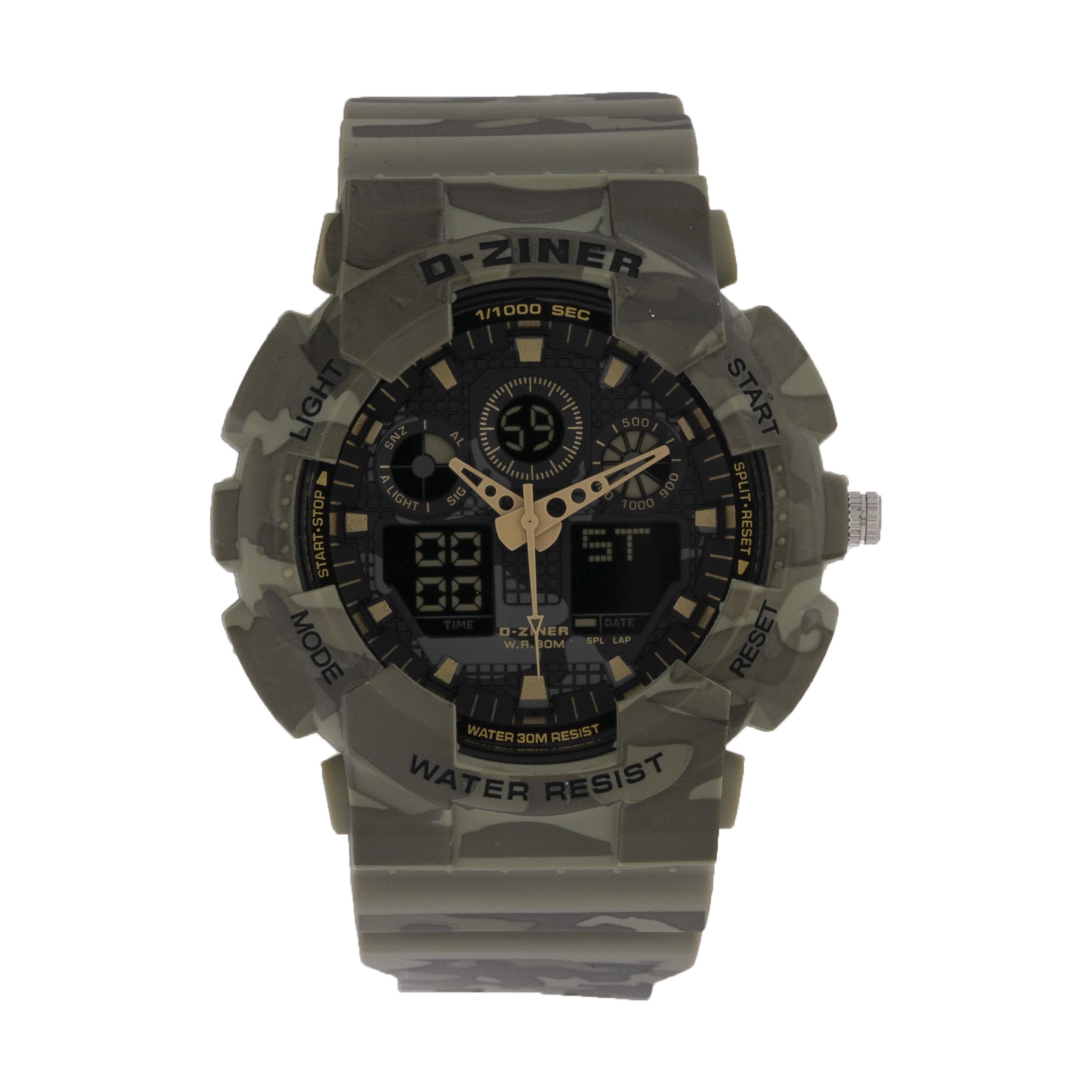 ساعت مچی عقربه ای مردانه دیزاینر مدل D-Z7029 20