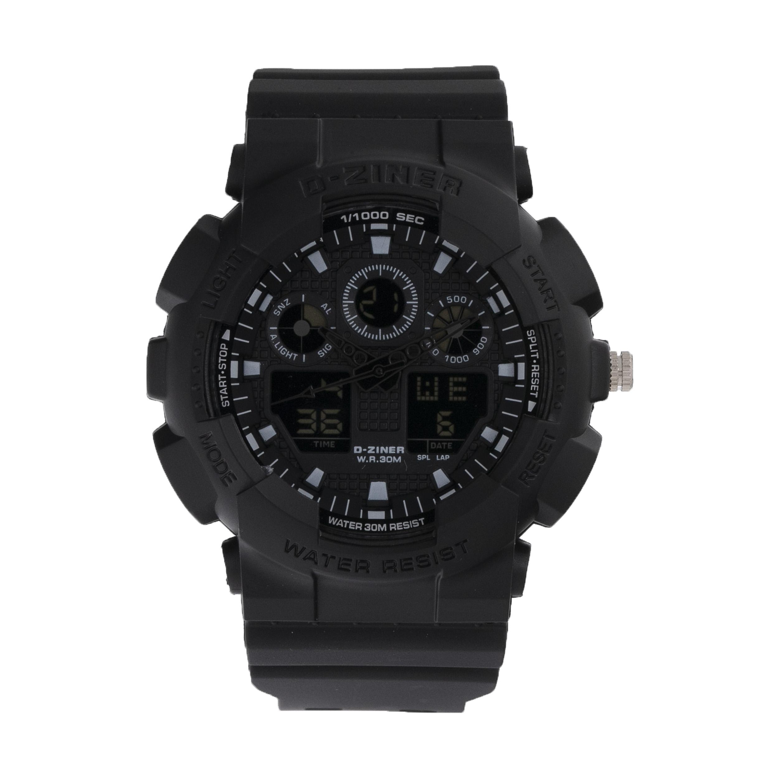 ساعت مچی عقربه ای مردانه دیزاینر مدل D-Z7050 19