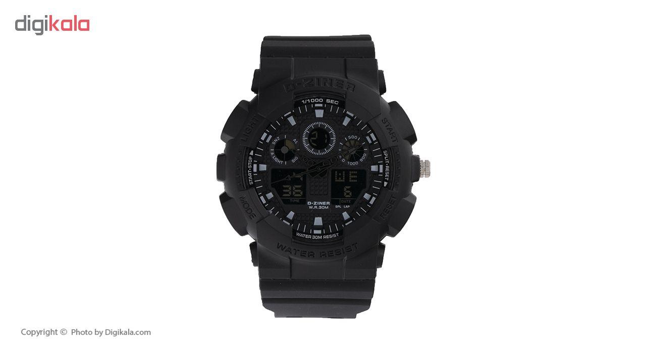 ساعت مچی عقربه ای مردانه دیزاینر مدل D-Z7050