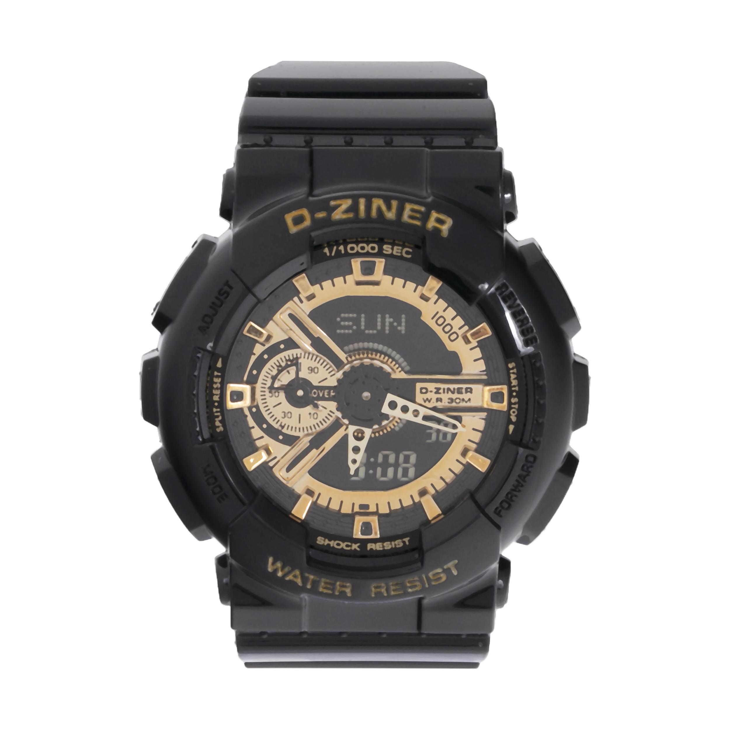 ساعت مچی عقربه ای مردانه دیزاینر مدل D-Z7026 34