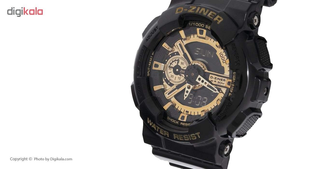 ساعت مچی عقربه ای مردانه دیزاینر مدل D-Z7026