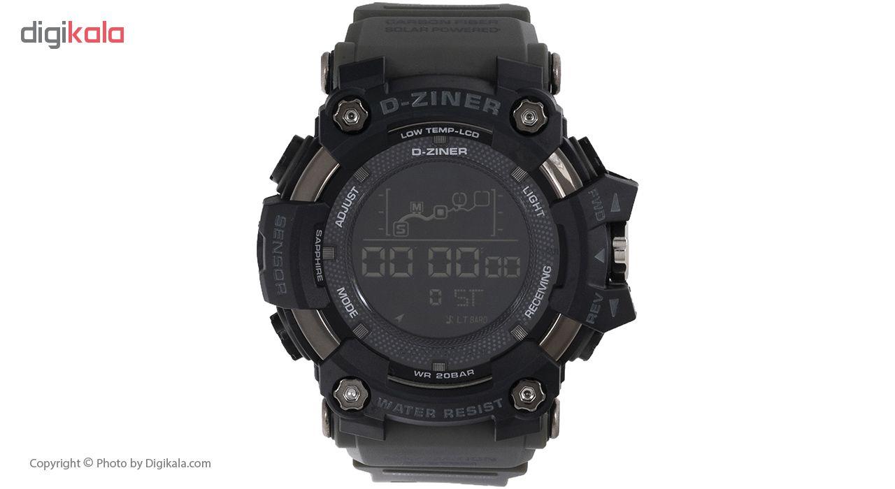 خرید ساعت مچی دیجیتال مردانه دیزاینر مدل D-Z7037