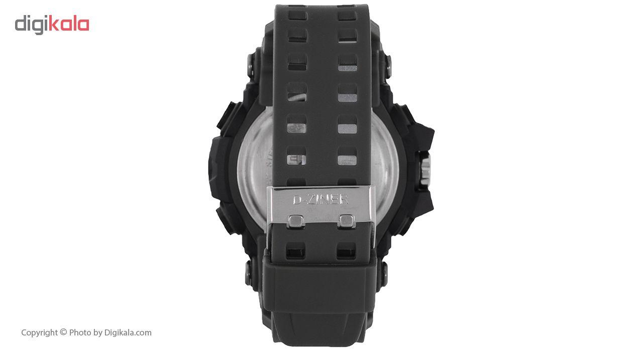 ساعت مچی دیجیتال مردانه دیزاینر مدل D-Z7037