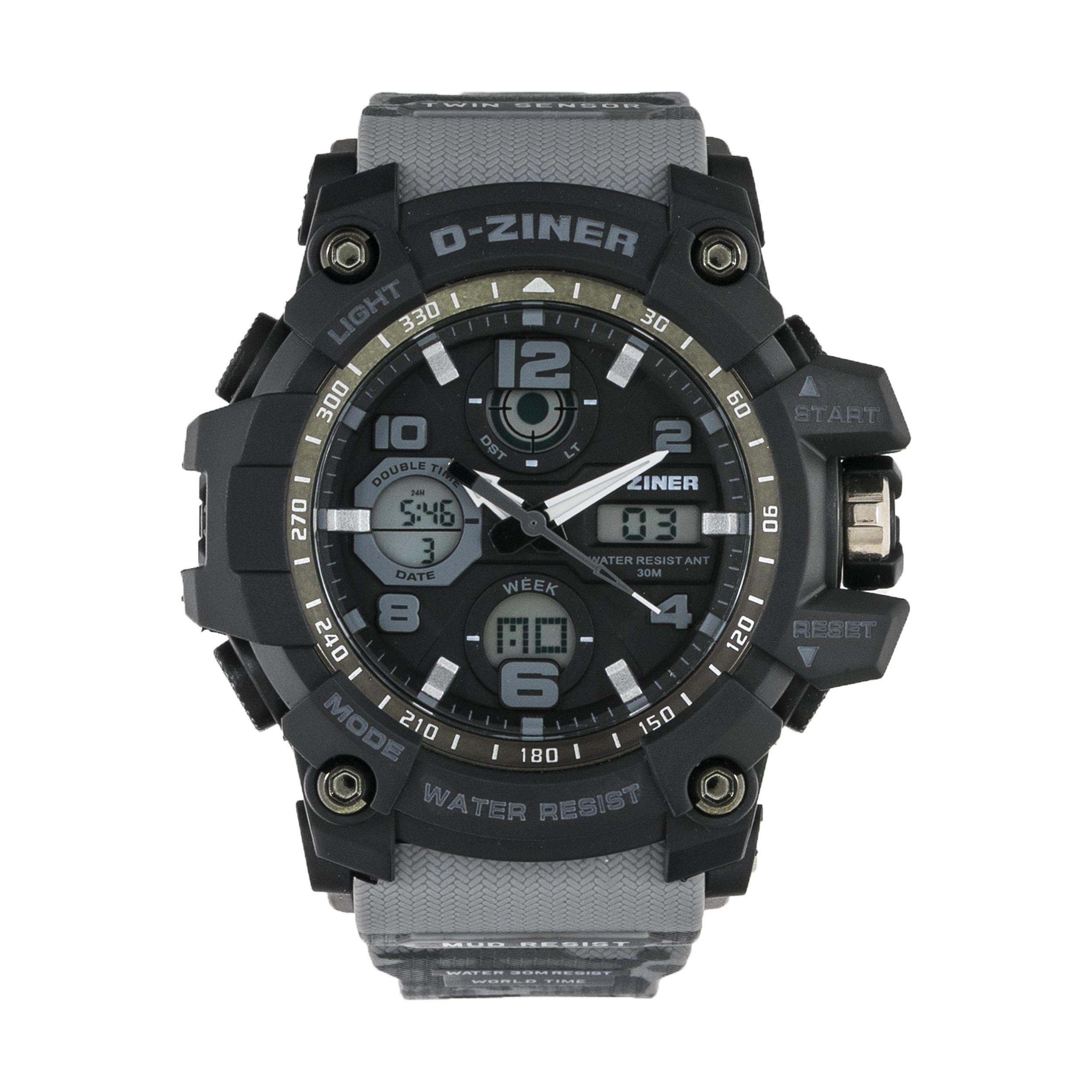 ساعت مچی عقربه ای مردانه دیزاینر مدل D-Z7007 28