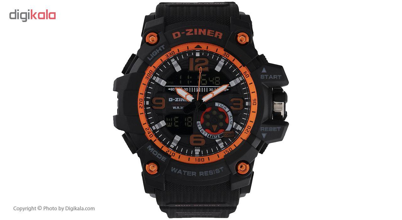 خرید ساعت مچی عقربه ای مردانه دیزاینر مدل D-Z7013