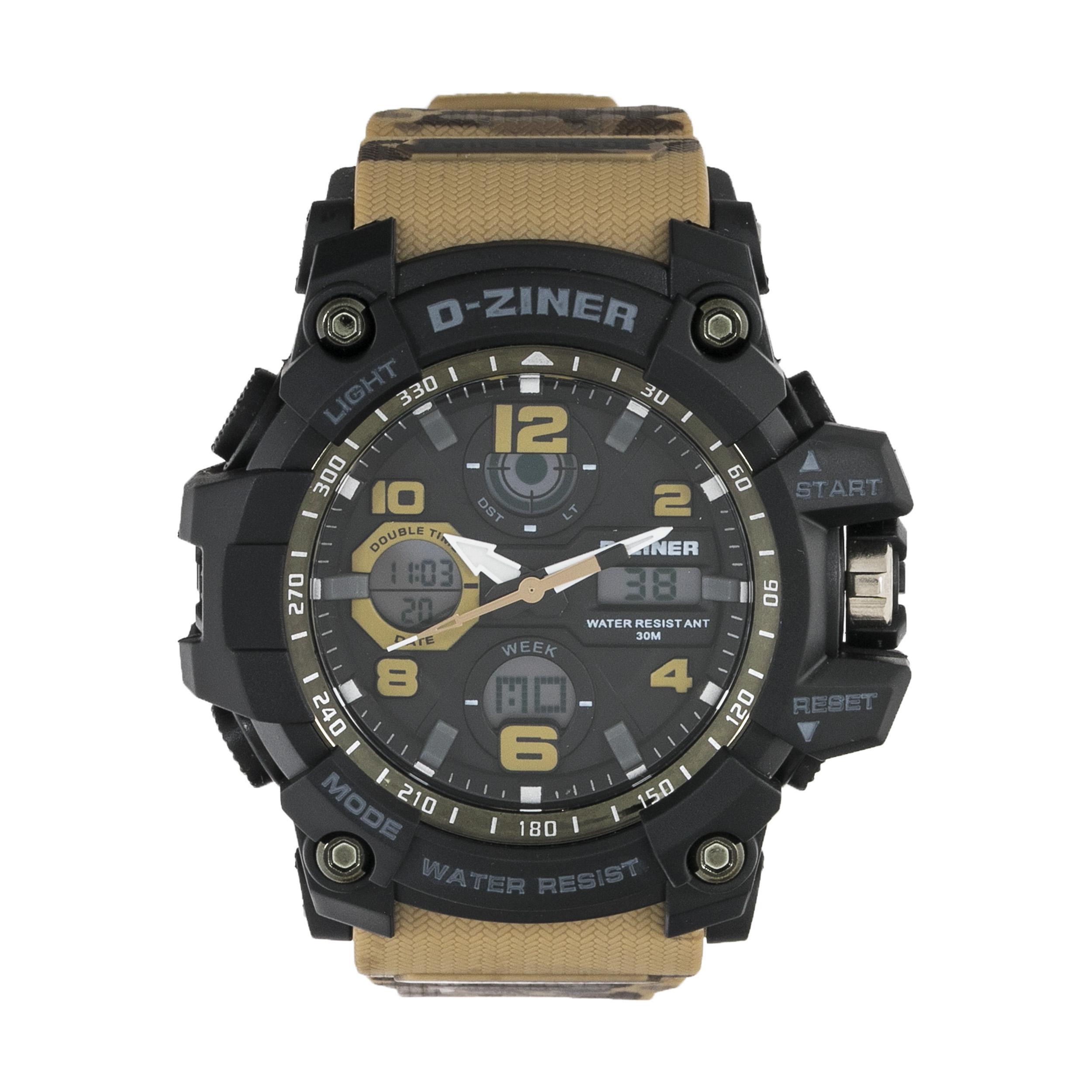ساعت مچی عقربه ای مردانه دیزاینر مدل D-Z7008