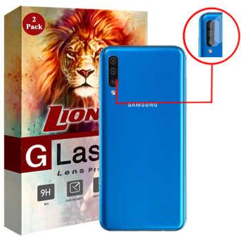 محافظ لنز دوربین لایونکس مدل UTFS مناسب برای گوشی موبایل سامسونگ Galaxy A50 بسته دو عددی
