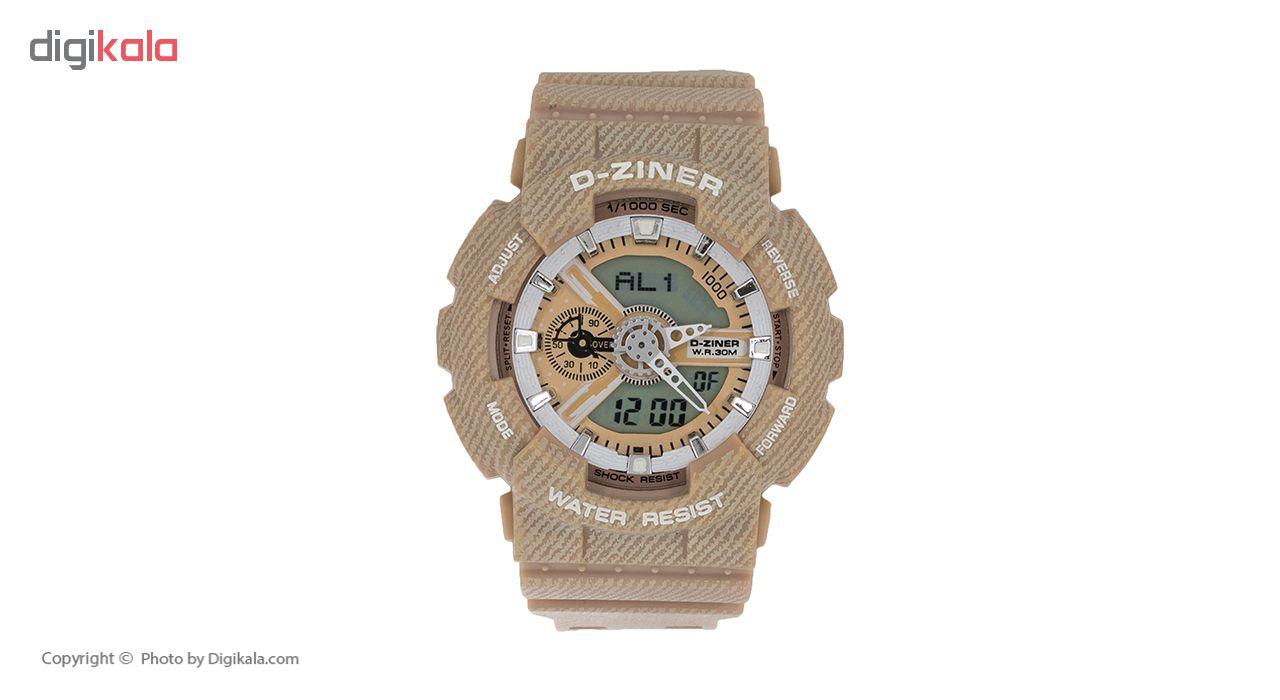 خرید ساعت مچی عقربه ای مردانه دیزاینر مدل D-Z7010