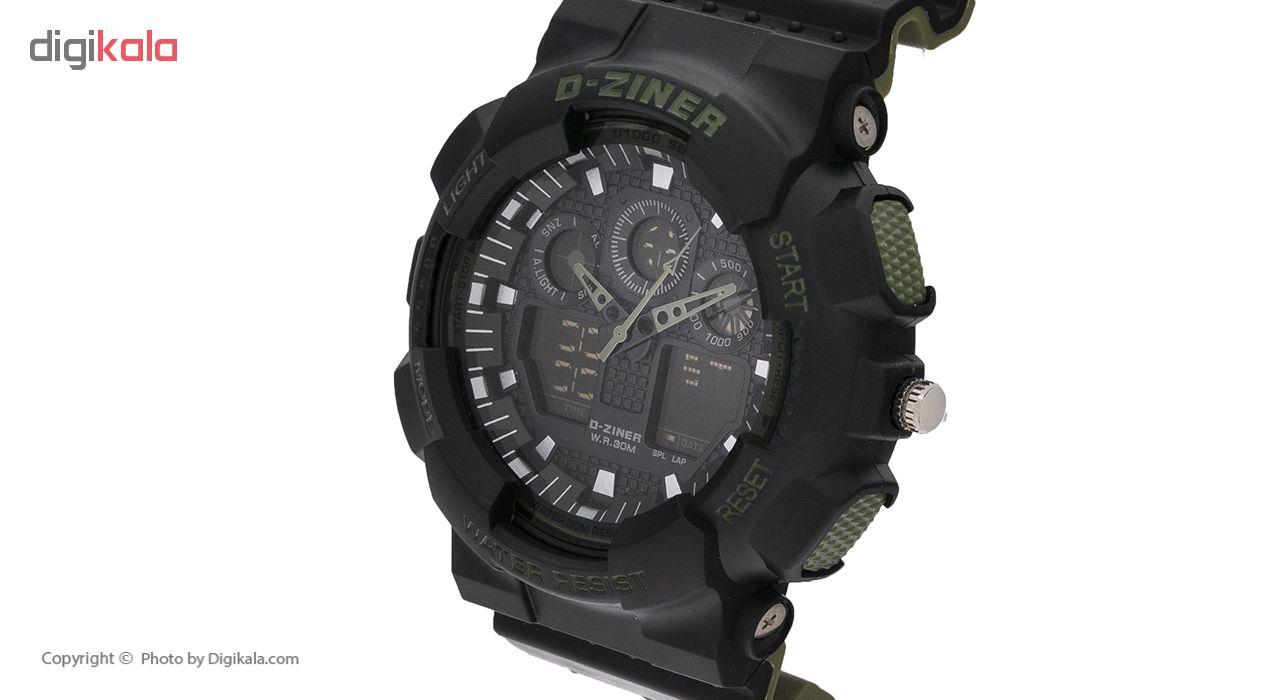 ساعت مچی عقربه ای مردانه دیزاینر مدل D-Z7058