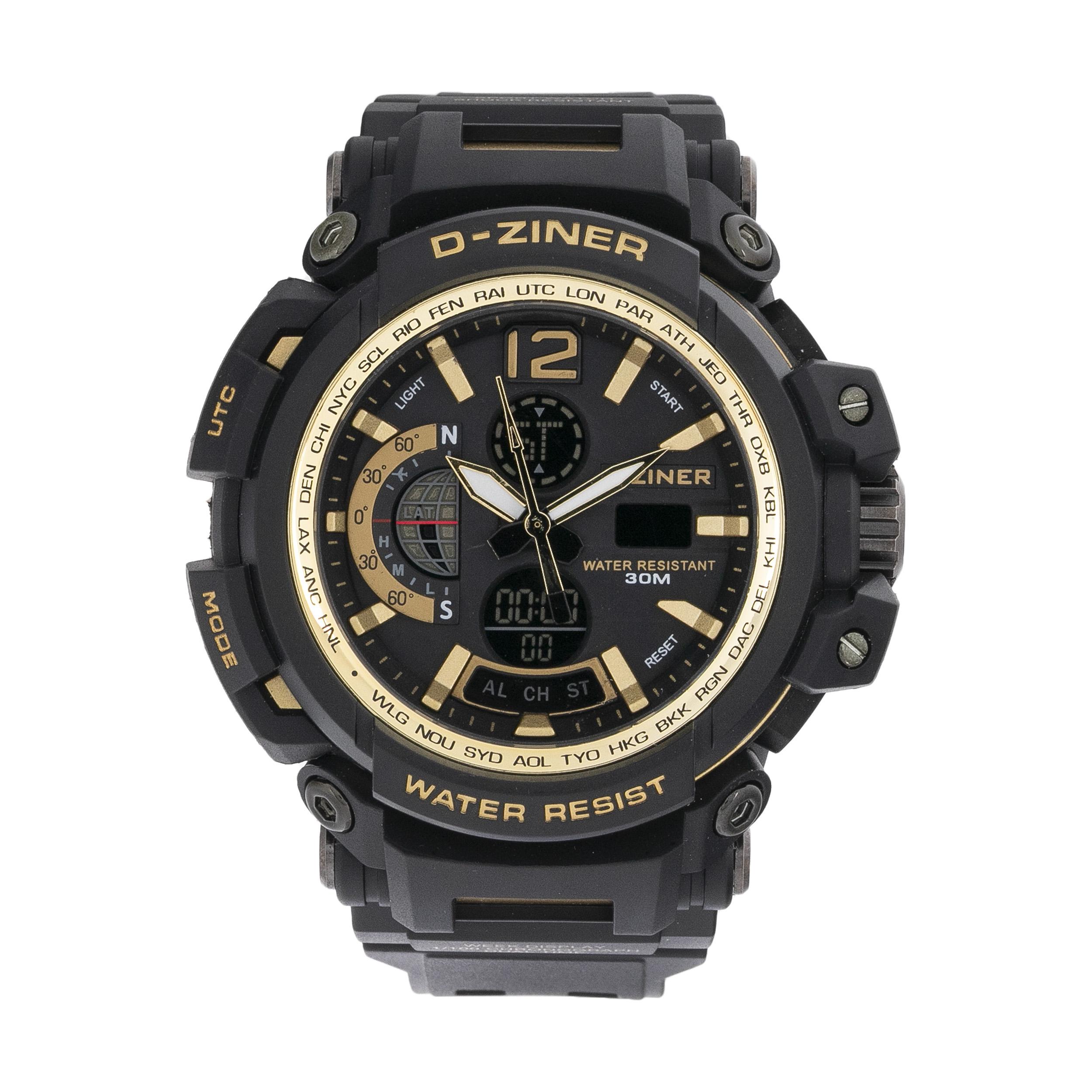 ساعت مچی عقربه ای مردانه دیزاینر مدل D-Z7004 34