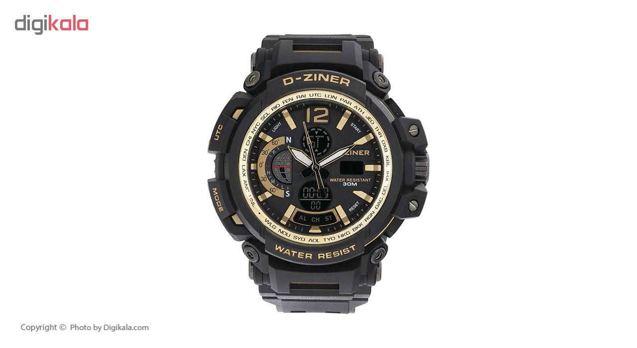ساعت مچی عقربه ای مردانه دیزاینر مدل D-Z7004