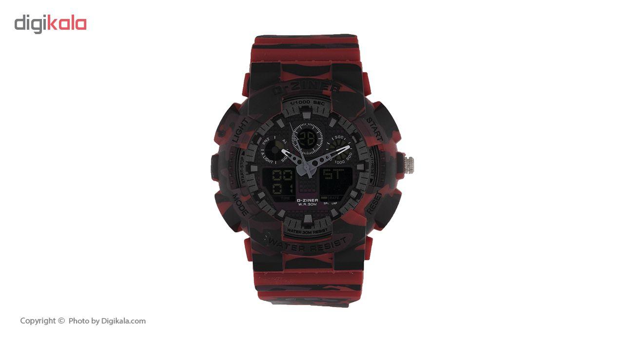 خرید ساعت مچی عقربه ای مردانه دیزاینر مدل D-Z7038