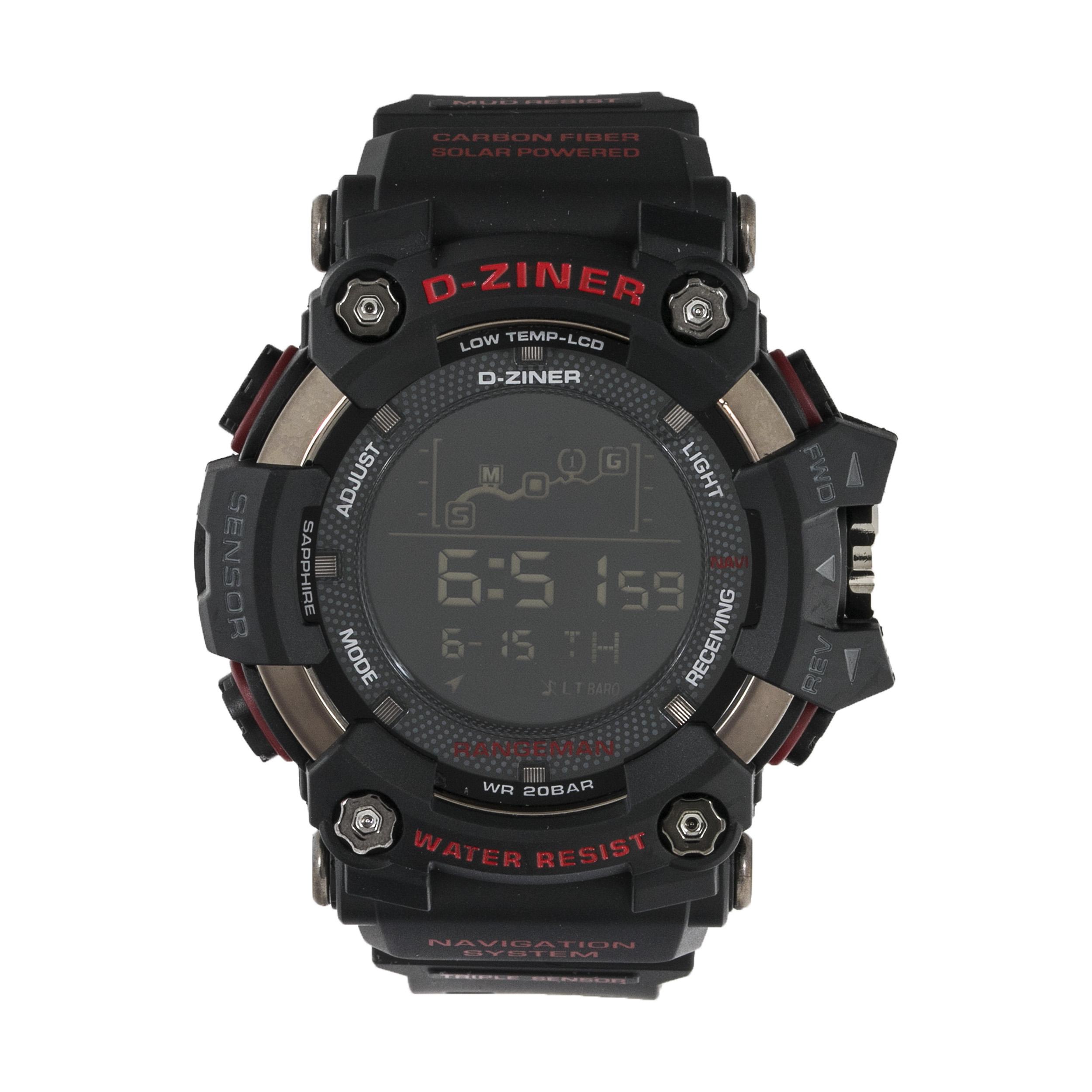 ساعت مچی دیجیتال مردانه دیزاینر مدل D-Z7042 6