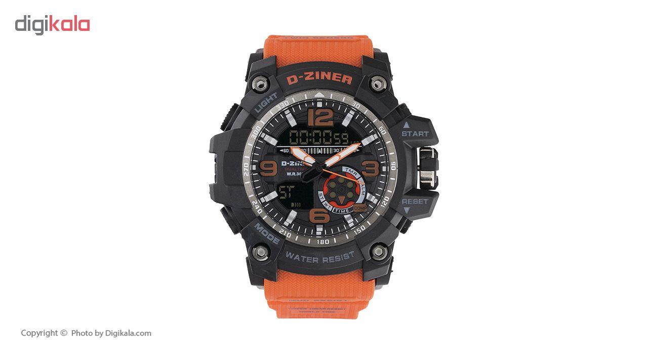 ساعت مچی عقربه ای مردانه دیزاینر مدل D-Z7006