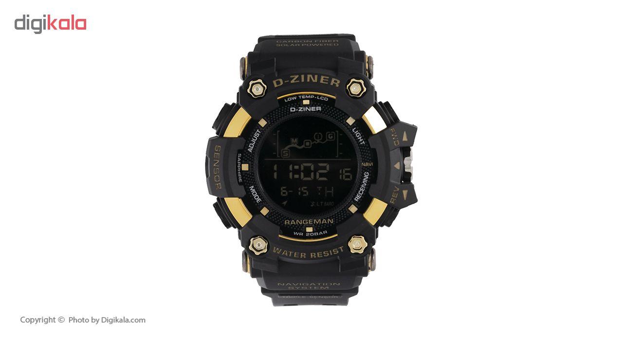 ساعت مچی دیجیتال مردانه دیزاینر مدل D-Z7057