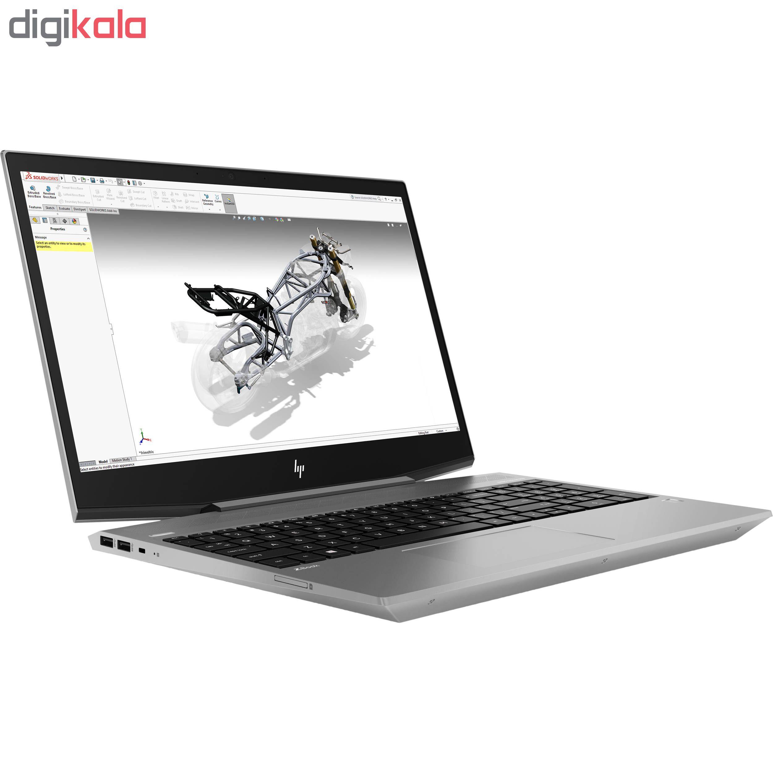 لپ تاپ 15 اینچی اچ پی مدل ZBook 15v G5 Mobile Workstation - D
