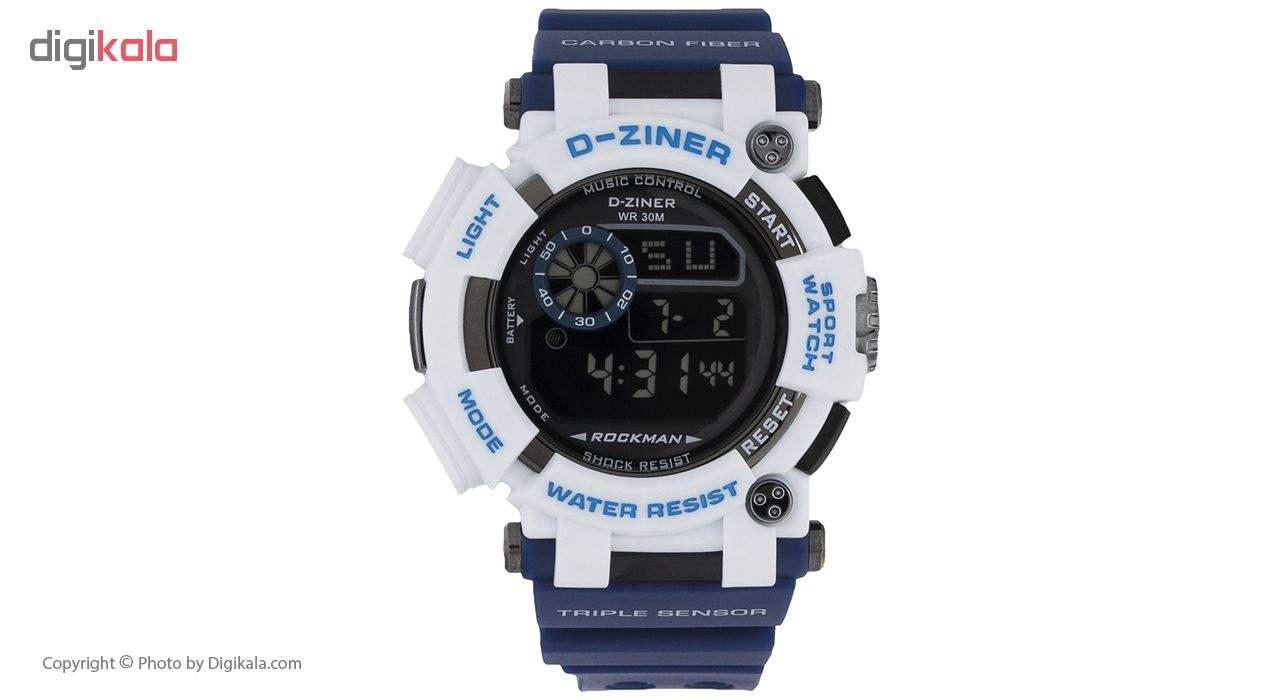 خرید ساعت مچی دیجیتال مردانه دیزاینر مدل D-Z7035