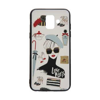 کاور مدل Beauty طرح Love Paris مناسب برای گوشی موبایل سامسونگ Galaxy A6 2018
